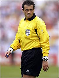 Кирос Васарас, рефер от Евро 08