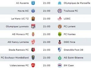Програма на френската лига 1
