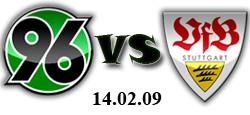 Хановер - Щутгарт - 14.02.2009