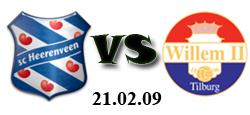 Heerenveen - WillemII - 21.02.2009