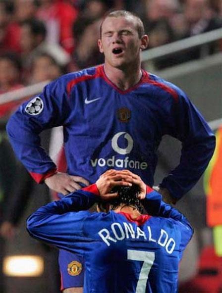 Рууни и Роналдо ...