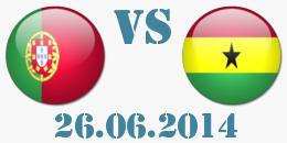 Португалия - Гана