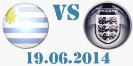 Уругвай - Англия