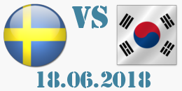 Швеция - Южна Кореа