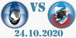 atalanta sampdoria 24_10_2020