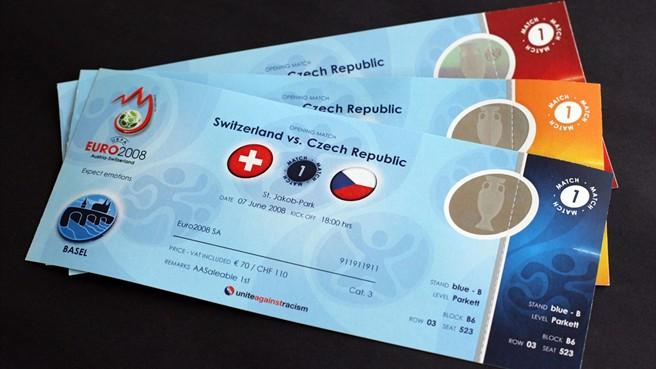 Билетите за Европейското по футбол